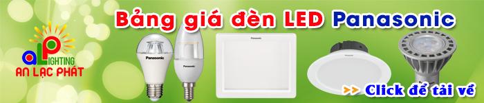 Bảng báo giá đèn LED Panasonic giá tốt nhất