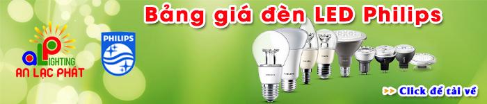 Bảng giá đèn LED Philips chính hãng