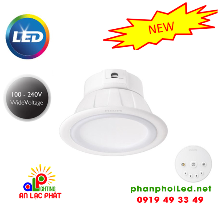 Đèn LED Downlight âm trần Smalu 59062 Philips 10.5W