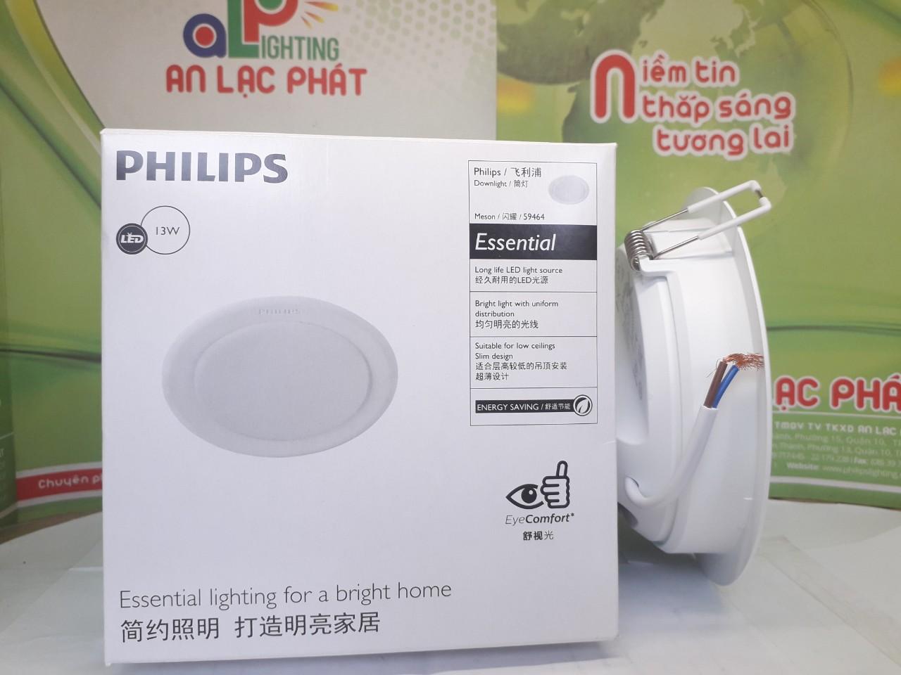 Mặt bên đèn Led Philips âm trần Menson phù hợp cho mọi loại trần