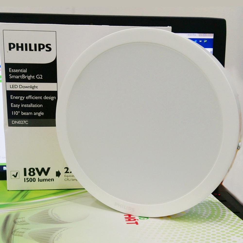 Đèn Led ốp trần Philips DN027C dải công suất rộng