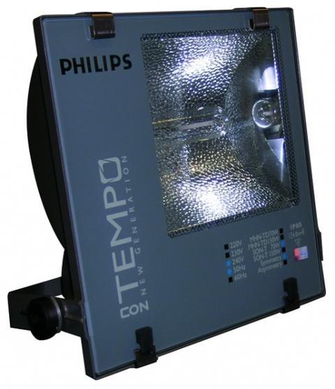 Đèn pha cao áp ConTempo Philips nhôm đúc với lớp phủ chống ăn mòn