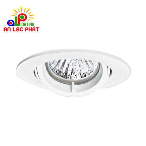 Chóa đèn downlight QBS Philips thiết kế cấu trúc đơn giản