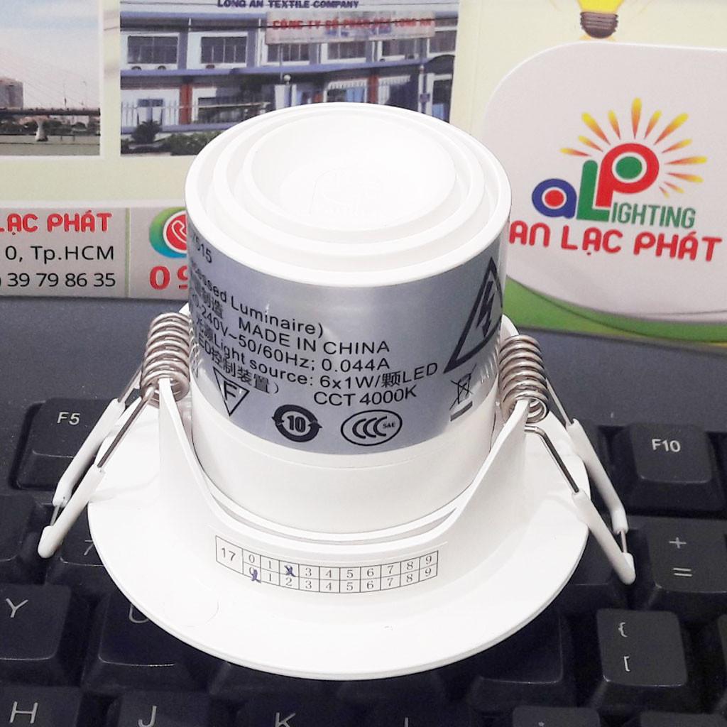 Đèn chiếu điểm Philips Kyanite âm trần có thể thay đổi góc chiếu