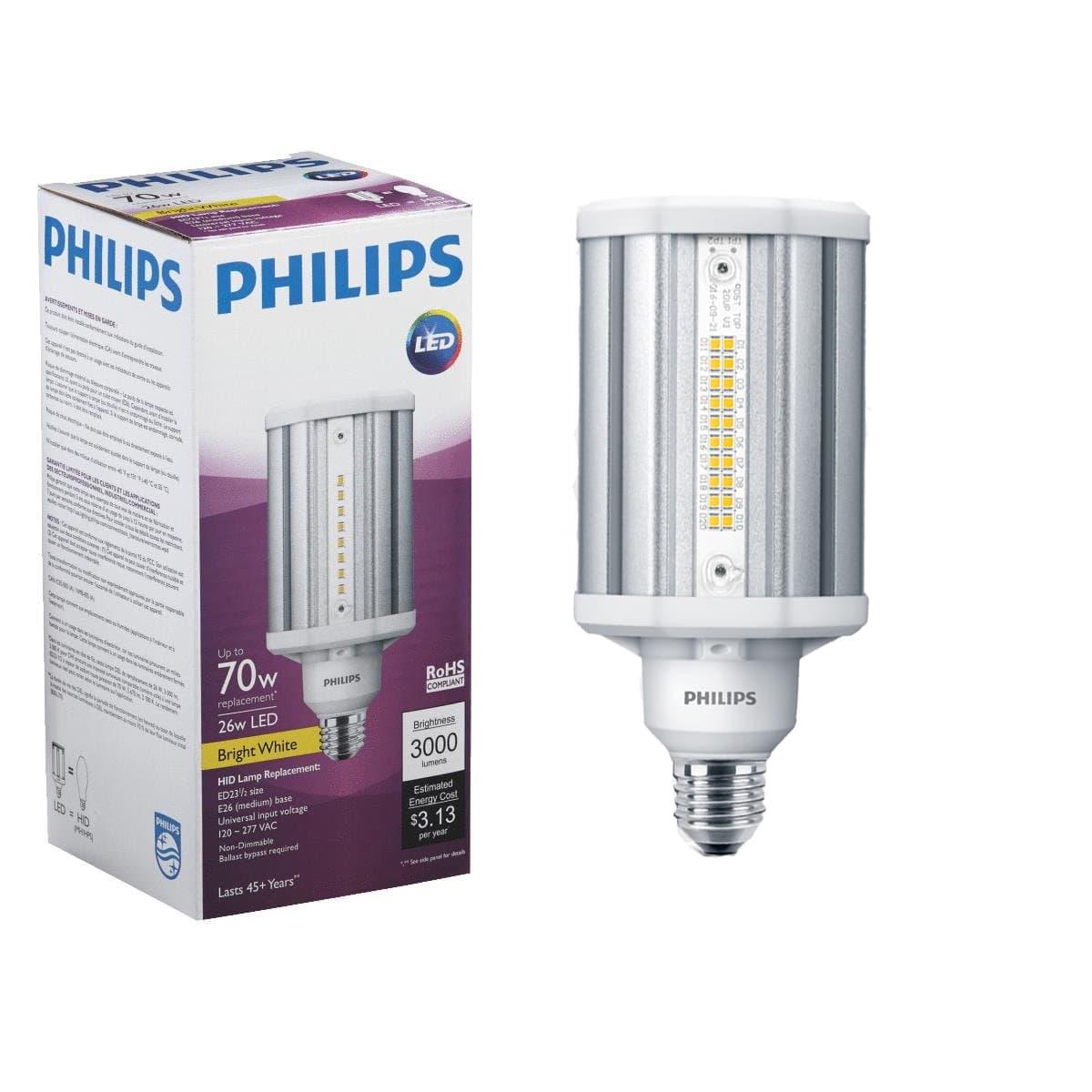 Bóng cao áp Led Philips Post-top tuổi thọ cao và tiết kiệm điện
