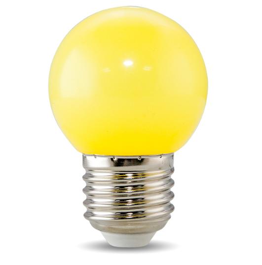 Đèn Led Bulb trang trí nhiều màu rạng đông công suất 1W