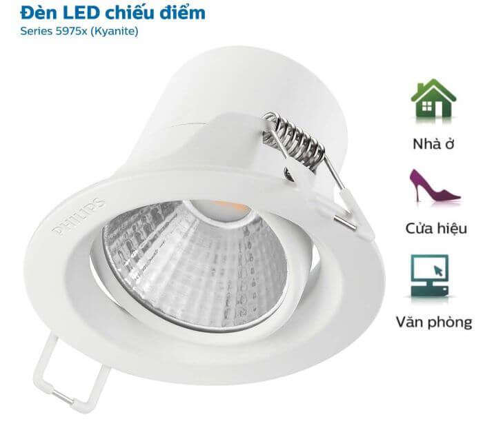 Đèn LED giúp không gian trở nên sống động hơn
