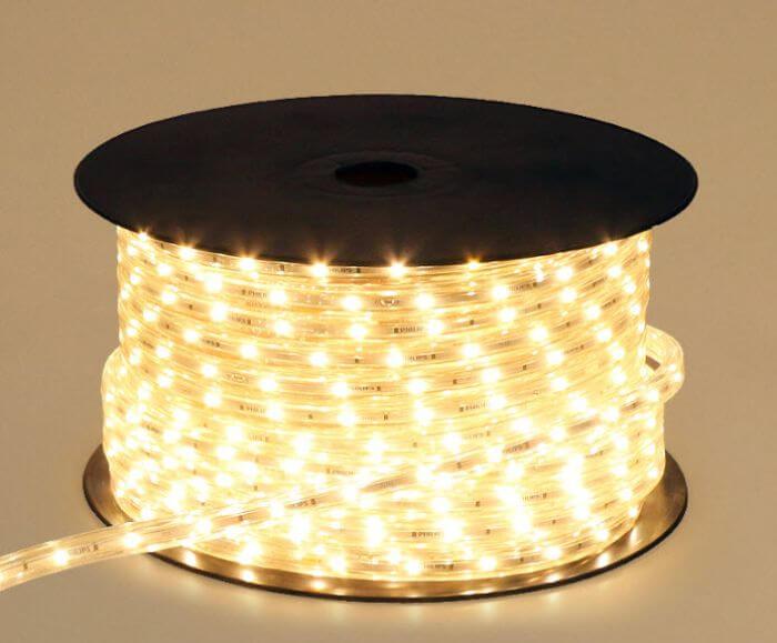 Đèn led dây của hãng Philips đảm bảo tính thẩm mỹ cao