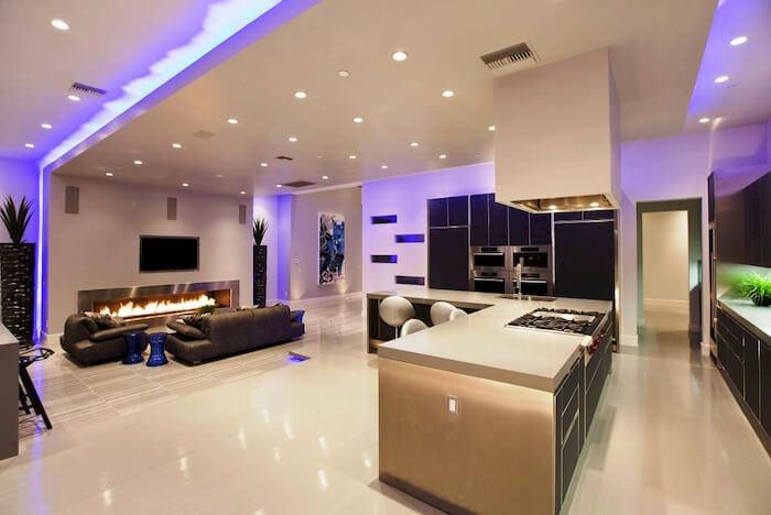 đèn led Duhal ứng dụng trong nhà