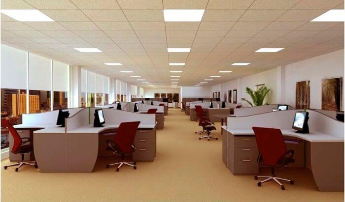 đèn led panel rạng đông phù hợp với nhiều loại không gian khác nhau