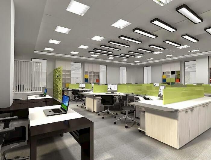 Đèn LED panel của Rạng Đông có dạng hình chữ nhật hoặc hình vuông