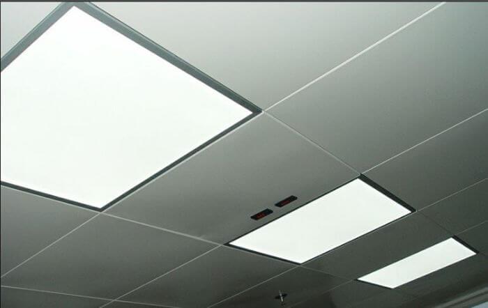 Đèn LED panel bao gồm 3 bộ phận chính
