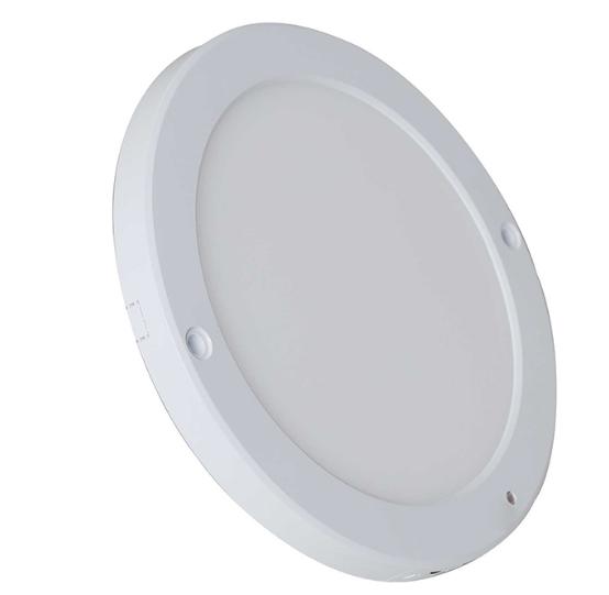 Đèn ốp trần Rạng Đông LN11L hình tròn với ánh sáng trắng và vàng