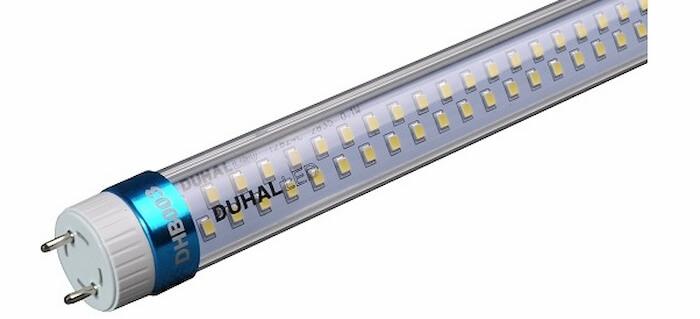 Đèn tuýp led của hãng Duhal khá đa dạng với những đặc điểm thiết kế riêng