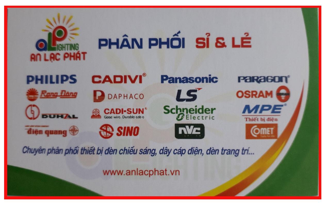 Một số thương hiệu chiếu sáng An Lạc Phát phân phối