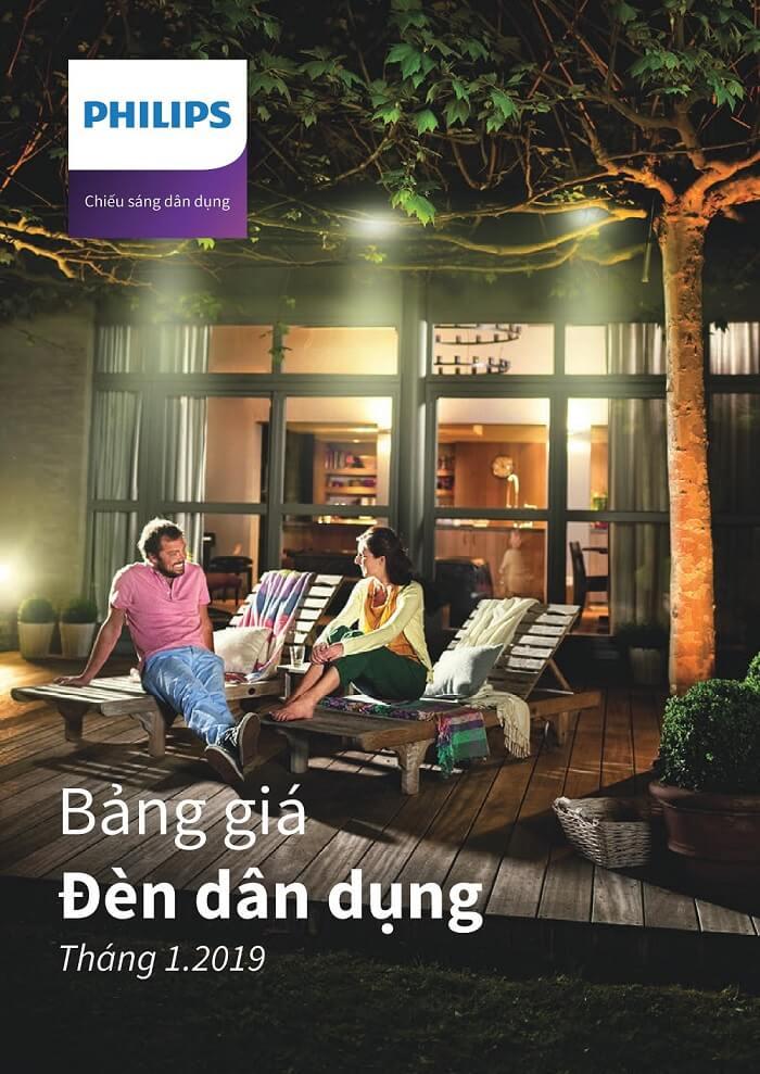 Bảng Giá Catalogue đèn Philips chính thức 2019