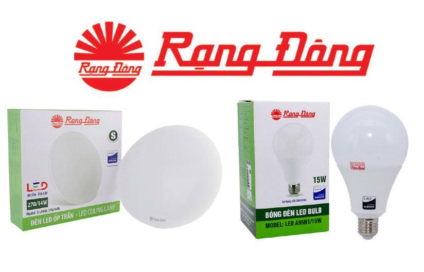 Rạng Đông là hãng sản xuất thiết bị đèn chiếu sáng xanh thành lập năm 1961