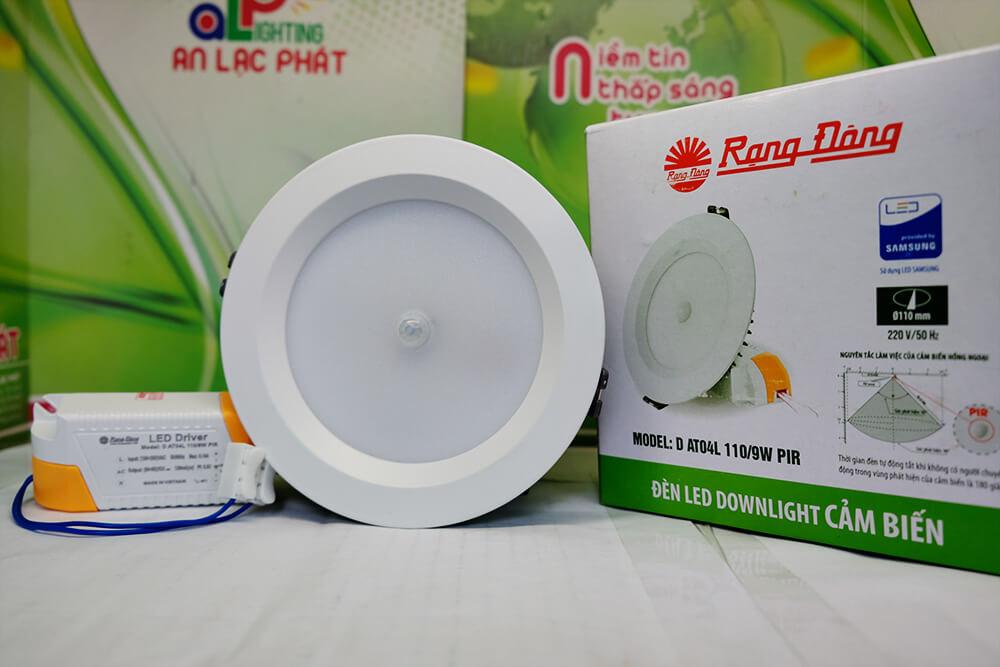Đèn led âm trần DAT04L 9w giá bóng đèn led rạng đông