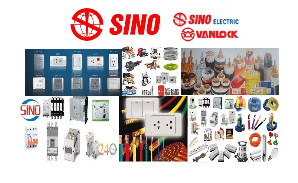 Đại lý thiết bị điện Sino phân phối toàn quốc