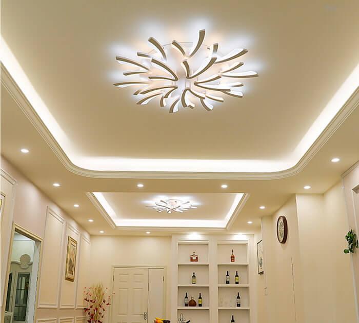 Cần lưu ý gì khi mua đèn LED trang trí phòng khách