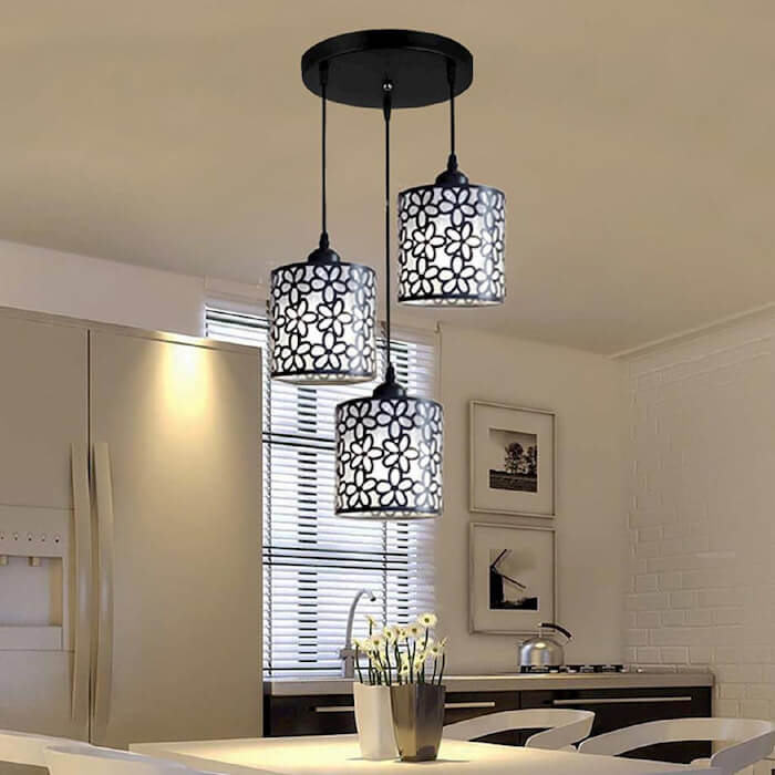 Tìm hiểu về ưu điểm và ứng dụng của đèn led treo trần