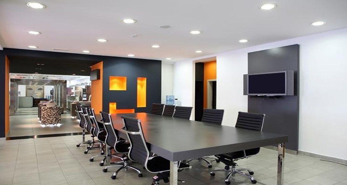 Đèn led âm trần Panasonic phù hợp lắp đặt trong các văn phòng giúp tiết kiệm điện